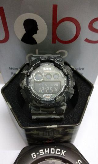 G-Shock GD-120CM Grey Camo Navy