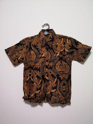 Boys batik shirt