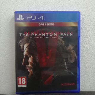 [PS4] METAL GEAR SOLID V : THE PHANTOM PAIN