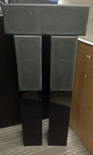 Carlson Acoustics Surround & Centre speaker