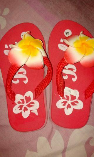 Sandal Jepit bali bunga