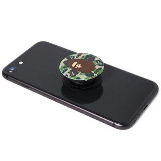 Bape Pop-Socket Green Camo PHONE grip