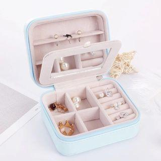 🚚 Portable jewelry box (with mirror)
