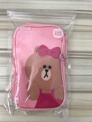 Choco travel pouch by Line