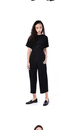 - BLACK JUMPSUIT FROM EDITOR's MARKET -