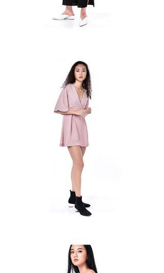 🚚 - PINK ROMPER FROM EDITOR's MARKET -