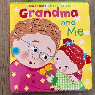 (New)揭揭書 Grandma and Me lift the flap book