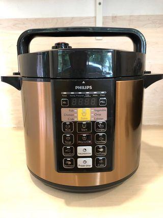 Philips Viva Collection Electric Pressure Cooker 6L (almost new)
