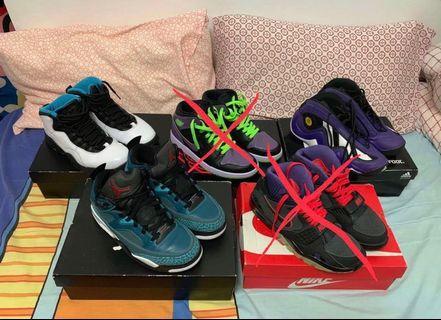 Nike and Adidas pairs for sale! Jordan