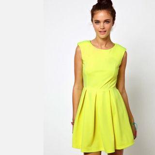 Was $20! LUELA   Cheerful Yellow Dress