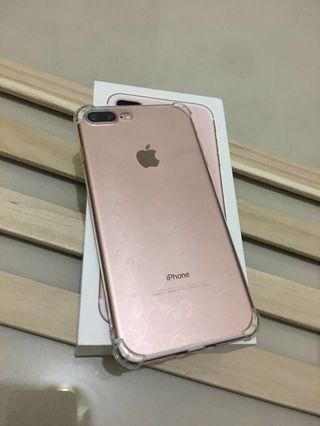🚚 IPhone7 pIus 128玫瑰金