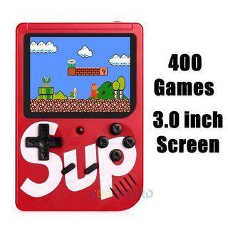 🚚 New Superme Retro Mini Handheld Game Console Emulator Built-in 400 Games AV Out