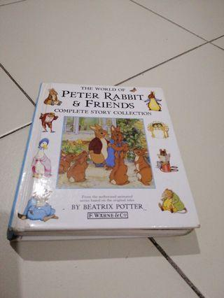 Complete collection peter rabbit n friends children story book English