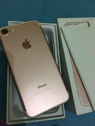 🚚 Iphone7 128 玫瑰金