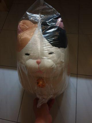 🚚 hige manjyu cat plush