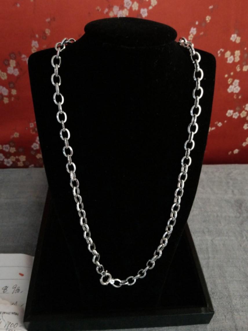 0198#18k necklace