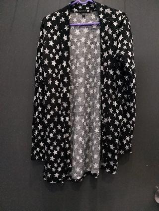 Cotton on-stars printed long sleeve jacket