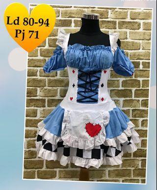 Mini dress/Kostum Anime/Cosplay
