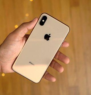 iPhone XS Max 64gb Gold (Sg set)