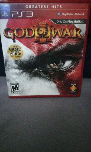 God of Wars PlayStation3 PS3 Game