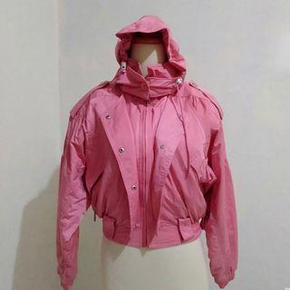 Pink Jacket Cismon Crop
