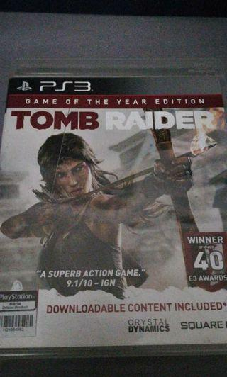TOMB RAIDER Game of the Year Edition PlayStation3 PS3 Game
