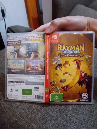 NS 鐳射超人:傳奇 Rayman