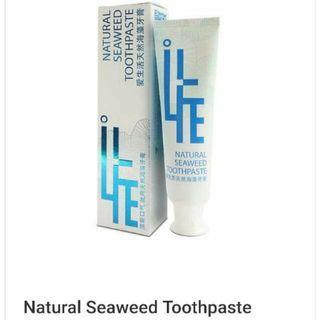 GREENLEAF NATURAL SEAWEED TOOTHPASTE