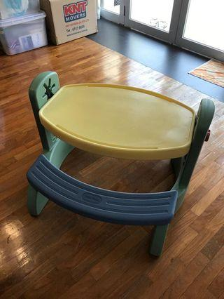 little tikes kids table and chair
