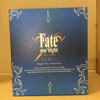 玩具出清 ebCraft Fate Stay Night Hyper Fate Collection Saber Archer 1套2款 安藤賢司 造型