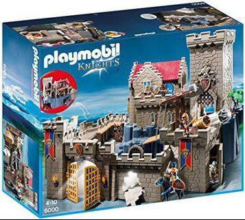 🚚 Playmobil 6000 (Royal Lion's Knight Castle)