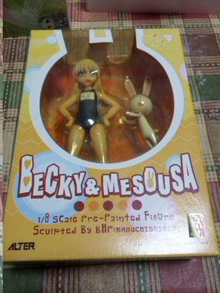 玩具出清 Alter Pani Poni 不可思議的教室 嬉皮笑園 宮本 蕾貝卡 Becky 水著 愛哭兔
