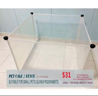 PET Playpen/ cage / pet fence for small pets