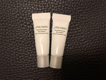 Shiseido sample - Essential Energy Eye Definer 水凝亮澤眼霜 #MTRtw #MTRtst