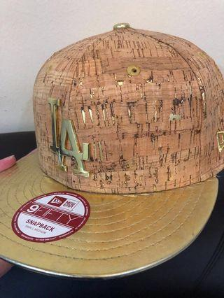 cbf42ddbaa8 Limited Edition LA Dodgers cork and gold cap  EndgameYourExcess