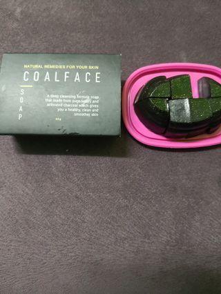 Coalface bar soap