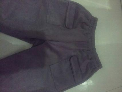 Suede Pant Grey (recommended)