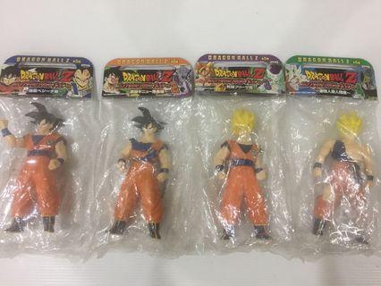 Dragonball Z Son Goku Lot (4 Figures)