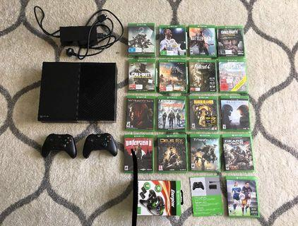 TAKING OFFERS Xbox One 1TB Elite & 17 Epic Games
