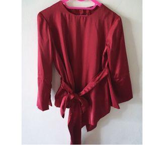 Baju Kondangan Merah