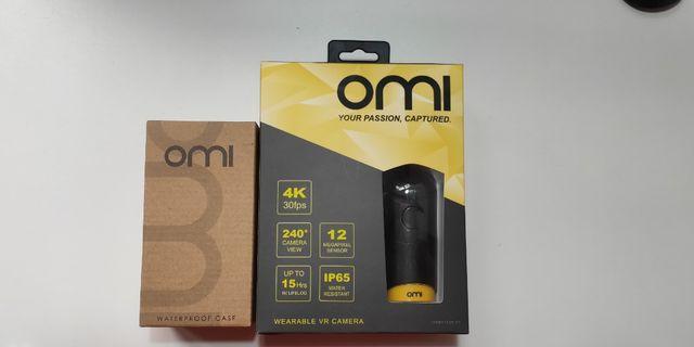 🚚 OmiCam穿戴式全景攝影機