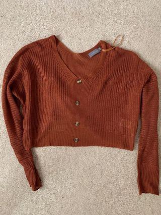 Mirrou crop knit