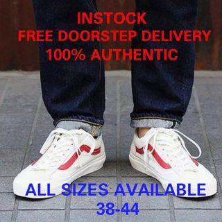 37aa847e84 (instock) VANS marshmallow style 36 Racing Red