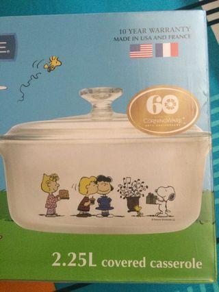 Snoopy corningware