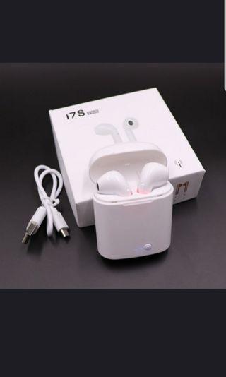 🚚 i7S TWS Wireless Earphone Headphone