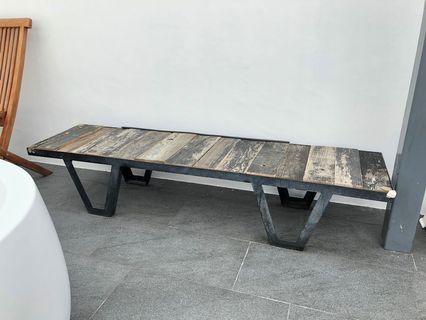 🚚 Space tv bench or Coffee Table from recycled wood