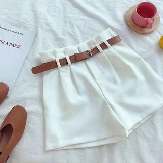 🆕 High Waist Shorts with belt #OYOHOTEL