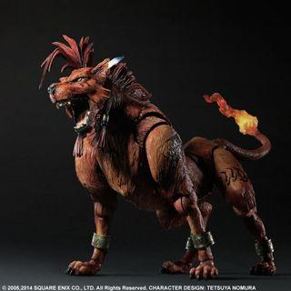 Play Arts Kai Red XIII Final Fantasy 7 VII Advent Children PO
