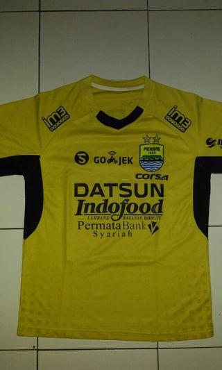 Jersey Gold Persib Bandung 2017/2018 Grade Ori