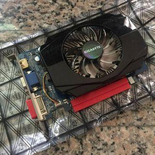 技嘉 N630 2G GV-N630-2GI 亮機卡 獨立顯示卡 顯卡